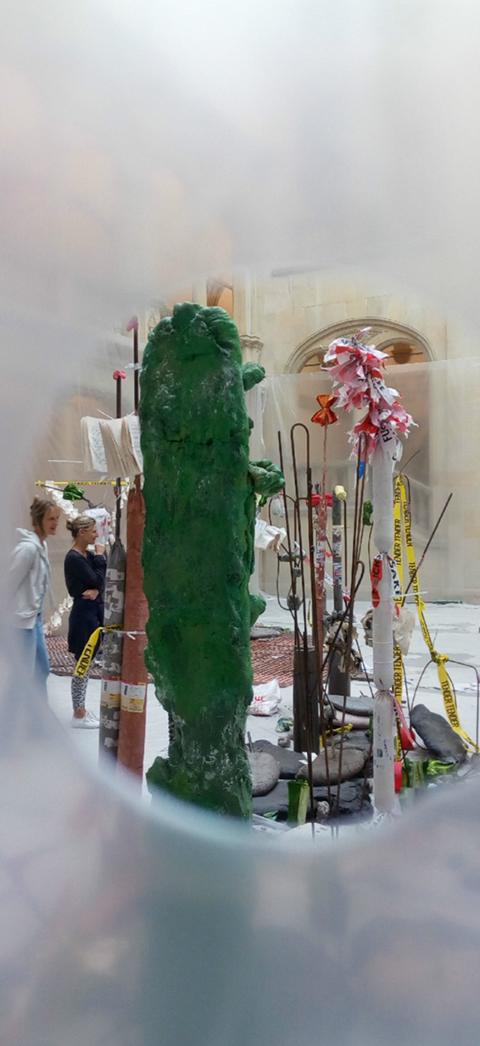 Mostres col·lectives d'art a Münster i Kassel, Skulpture Projekt i Documenta 14